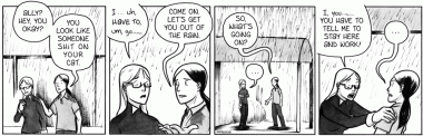 Out Of The Rain [Comic]